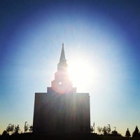 Photo taken at Kansas City Missouri Temple by Heather C. on 8/23/2012