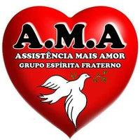 Photo taken at Assistência Mais Amor (AMA) Grupo Espírita Fraterno by Junior E. on 3/8/2012