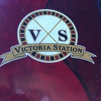 Photo taken at Victoria Station by Andrew D. on 5/12/2012