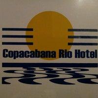 Das Foto wurde bei Copacabana Rio Hotel von Ricardo S. am 7/16/2012 aufgenommen