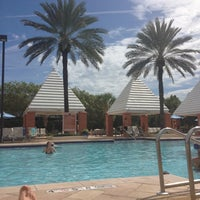 Photo taken at Hilton Grand Vacations at SeaWorld by Michael on 8/22/2012