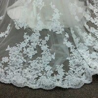 Photo taken at Lulu's Bridal by Rachel K. on 6/22/2012