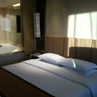 Photo taken at Room No3021 Hotel Nikko by Anekrati on 4/27/2012