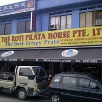 Photo taken at The Roti Prata House by Hutomo D. on 7/13/2012