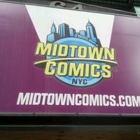 Photo taken at Midtown Comics by Paul P. on 6/5/2012