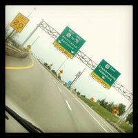 Photo taken at Pennsylvania Turnpike by Lauren B. on 5/15/2012
