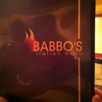 Photo taken at Babbo's Italian Grill by Clarissa M. on 2/22/2012