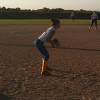 Photo taken at Perry Farms Softball Field by Drew G. on 7/18/2012