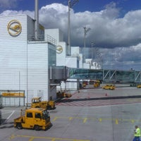 Photo taken at Terminal 2 by Maksym G. on 8/26/2012