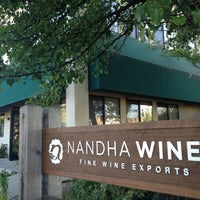 "Photo taken at Nandha Wines: ""Fine Wine Exports."" by Rory L. on 6/29/2012"