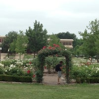 Photo taken at Rose Garden by Natalie G. on 5/7/2012