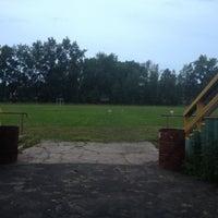 Снимок сделан в Стадион «Строитель» пользователем Татьяна З. 6/26/2012