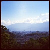 Photo taken at つつじが崎霊園 by Osami I. on 8/19/2012