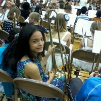 Photo taken at Burke High School by Rene G. on 5/4/2012