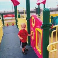 Photo taken at Jones Beach Playground by George B. on 7/4/2012