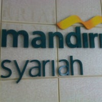 Photo taken at Bank Syariah Mandiri by Bayu S. on 6/20/2012