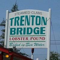 Photo taken at Trenton Bridge Lobster Pound by Jim L. on 7/19/2012