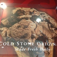 Photo taken at Cold Stone Creamery by Nicole B. on 8/19/2012