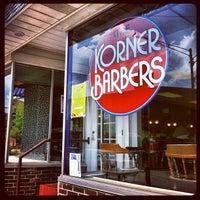 Photo taken at Korner Barbers by Ryan K. on 9/6/2012