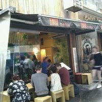 Photo taken at Menya Japanese Noodle Cafe by Alexander Y. on 3/21/2012