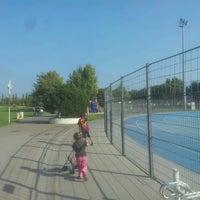 Photo taken at Parc Des Sports Et De L'amitié by Laurent B. on 9/5/2012