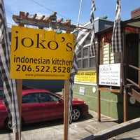 Photo taken at Joko's Indonesian Kitchen by Robby D. on 6/28/2012