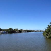 Photo taken at Ilha Colônia Leocadia by Antonio B. on 8/13/2012