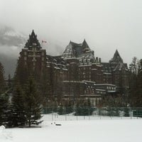 Photo taken at The Fairmont Banff Springs Hotel by Jeremy T. on 3/17/2012