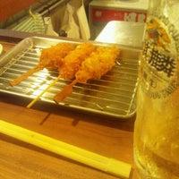 Photo taken at いな福 by Kazu on 6/16/2012
