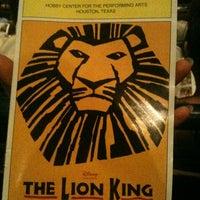 Photo prise au Hobby Center for the Performing Arts par Dana T. le8/12/2012