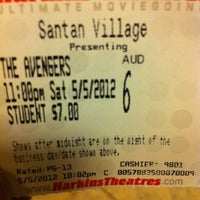 Photo taken at Harkins Theatres SanTan Village 16 by Art T. on 5/6/2012