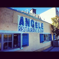 Photo taken at Angèle Restaurant & Bar by Andy S. on 9/10/2012