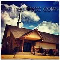 Photo taken at New Life Pentecostal Church by Amanda R. on 4/3/2012