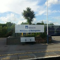 Photo taken at Basingstoke Railway Station (BSK) by Vincent R. on 6/19/2012