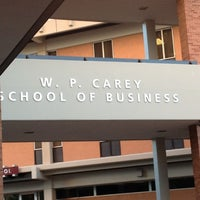 Photo taken at W. P. Carey School of Business by Ghadeer D. on 4/27/2012