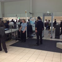 Photo taken at Security/Passport Control - T1 by Afroditi K. on 2/23/2012