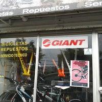 Photo taken at Bicimania Bike Shop by Luis V. on 3/1/2012