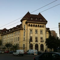 "Photo taken at Colegiul Național ""Iulia Hasdeu"" by ALina M. on 3/27/2012"