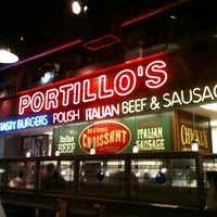 Photo taken at Portillo's Hot Dogs by Barbara K. on 8/13/2012