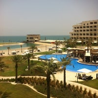 Photo taken at Sofitel Bahrain Zallaq Thalassa Sea & Spa by Nawaf A. on 7/16/2012