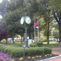 Photo taken at Collierville Town Square Park by ~Roni~ on 5/29/2012