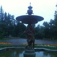 Photo taken at Парк «Чёрное озеро» by Hasan H. on 8/10/2012