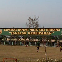 Photo taken at Lapangan Rampal by F Ari Wibowo on 8/31/2012