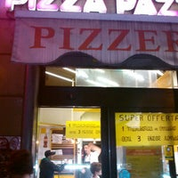 Photo taken at Pizza Pazza by Simone C. on 9/2/2012