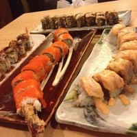 Photo taken at Sushi Naga by selly p. on 8/10/2012