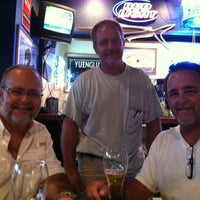 Photo taken at Beach Bumz Pub & Pizzaria by Cathy on 8/4/2012