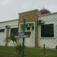 Photo taken at Surau as Sobireen, Taman Sri Raya by ZUL b. on 3/2/2012