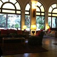 Photo taken at Grand Hotel La Pace by ilbiancoeilrosa o. on 4/6/2012