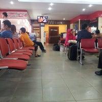 Photo taken at Sultan Thaha Syaifuddin Airport (DJB) by Gilang K. on 6/20/2012