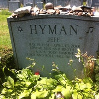 Photo taken at Joey Ramone's Grave by Cecilia R. on 6/24/2012